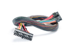 Close-up of electrical plug Stock Image