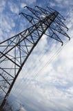 Close up of electrical pylon stock photos
