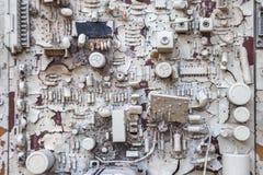 Close-up of electronic circuit board Stock Photos
