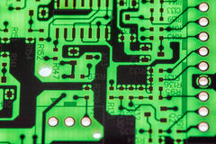 Close up of Electronic Circuits in Technology on Mainboard computer background  logic board,cpu motherboard,Main board,system boa Stock Images