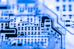 Close up of Electronic Circuits in Technology on Mainboard computer background  logic board,cpu motherboard,Main board,system boa Stock Photography
