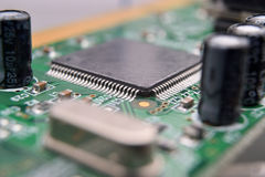 Close up of electronic components Stock Image