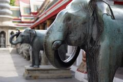 Close up elefant statue Royalty Free Stock Photography