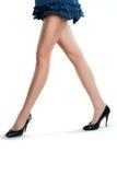 Close up of elegant female legs Stock Photo