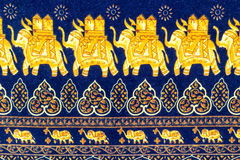 Close up elephant  decorative pattern Royalty Free Stock Photo