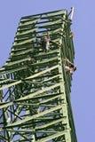 Close up elevado do trabalhador Imagens de Stock Royalty Free