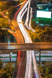 Close up Elevated highway Stock Photography