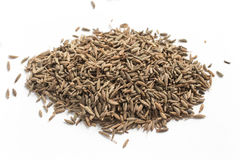 Close-up em sementes de cominhos foto de stock royalty free