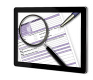 Close-up of Emergency plan Royalty Free Stock Photo