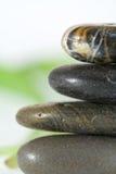 Close up empilhado das pedras Imagens de Stock