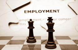 Employment concept Stock Images