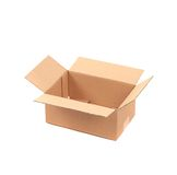 Close up of empty box. Royalty Free Stock Photo