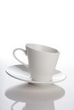 Close up of empty cup Royalty Free Stock Images