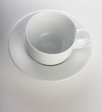 Close up of empty cup Stock Image