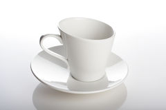 Close up of empty cup Royalty Free Stock Photography