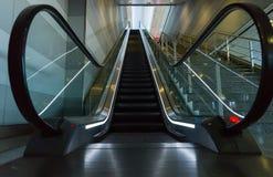 Close up of empty escalator Stock Image