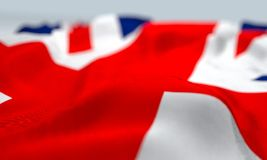 Close up England flag Royalty Free Stock Images