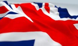 Close up England flag Royalty Free Stock Photo