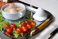 Close up english breakfast Royalty Free Stock Image
