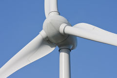 Close-up of an enormous windturbine Royalty Free Stock Photo