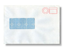 Close-up of an envelope. Stock Photos