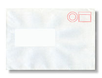 Close-up of an envelope. Stock Image