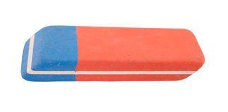 Close up of an eraser Stock Images