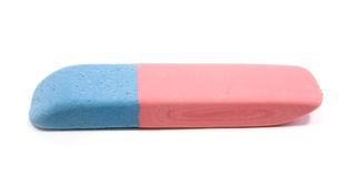 Close up of an eraser Royalty Free Stock Photo