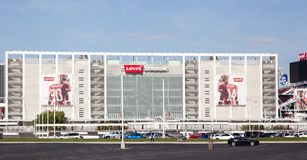 Close up 49'ers Levi's Stadium San Jose Stock Image