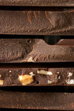 Close-up escuro do chocolate Fotografia de Stock Royalty Free