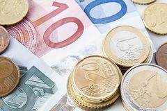 Close-up of Euro Stock Photos