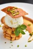 Close up exótico do gelado imagens de stock