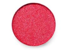 Close-up Extremal da sombra para os olhos vermelha fotografia de stock royalty free