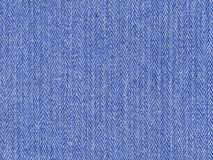 Close up extremo do material da sarja de Nimes (horizontal) Imagem de Stock Royalty Free