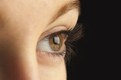 Close-up of eye Royalty Free Stock Images