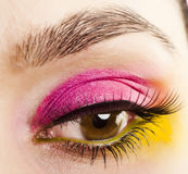 Close-up eye Stock Photography