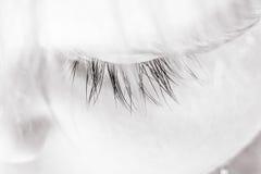 Close-up of eye baby Stock Photo