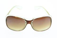 Close up of eye glasses isolated on white background Royalty Free Stock Photography