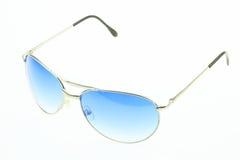 Close up of eye glasses isolated on white background Royalty Free Stock Images