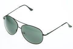 Close up of eye glasses isolated on white background Royalty Free Stock Image