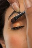 Close Up Eye Shadow Royalty Free Stock Photo