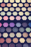 Close up eye shadow cosmetic Stock Images
