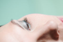 Close up of the eye of a woman Royalty Free Stock Photo