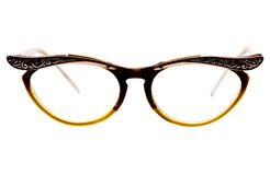 Close-up of eyeglasses Royalty Free Stock Images