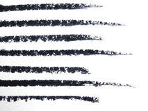 Close up of a eyeliner pencil drawing Stock Images