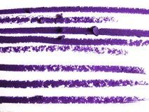 Close up of a eyeliner pencil drawing Royalty Free Stock Photo