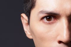 Close up of eyes Stock Photos