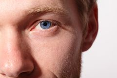 Close up of eyes Royalty Free Stock Photography