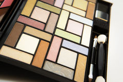 Close-up of eyeshadow Royalty Free Stock Images