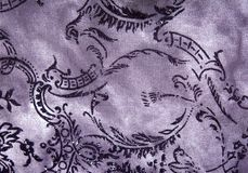 Close up of fabric with patern Stock Images